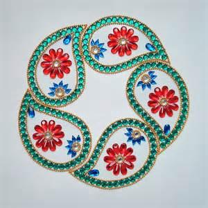 kundan designs kundan rangoli designs craftsndesigns