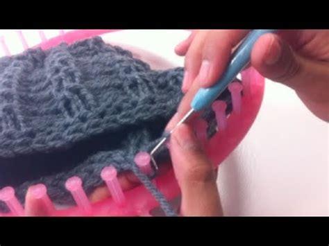 bind loom knitting circular loom knitting how to bind diy tutorial