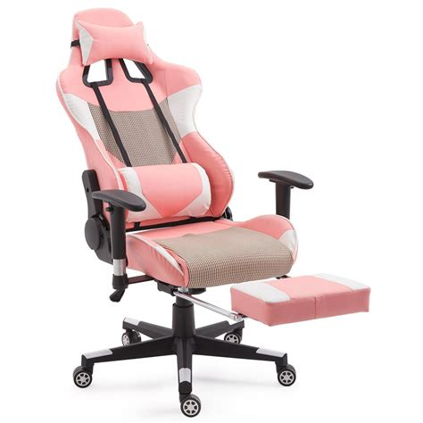 Home Style Gaming Chair by Giantex High Back Racing Style Pink Gaming Chair Lummyshop