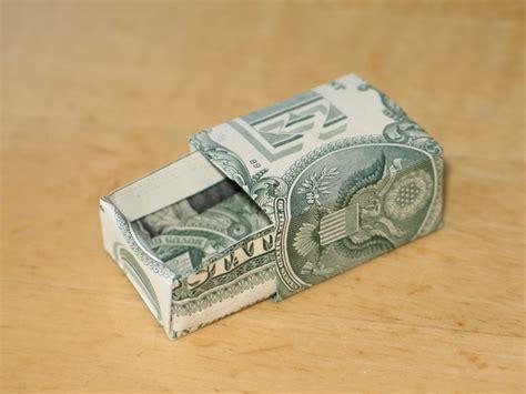 origami money box dollar bill origami box drawer origami money