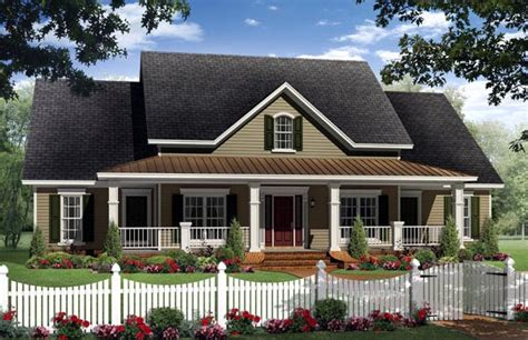 traditional farmhouse plans house plan 59205 country farmhouse traditional plan with