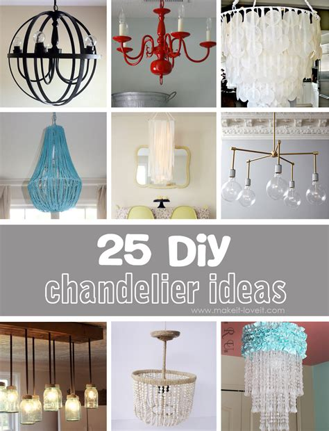 diy chandelier ideas 25 diy chandelier ideas make it and it