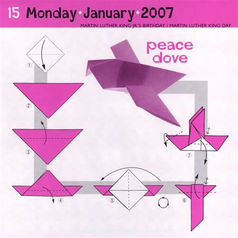 origami dove step by step peace dove origami other origami and the
