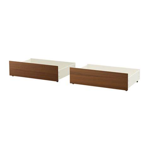malm bed frame with box malm bed storage box for high bed frame brown stained