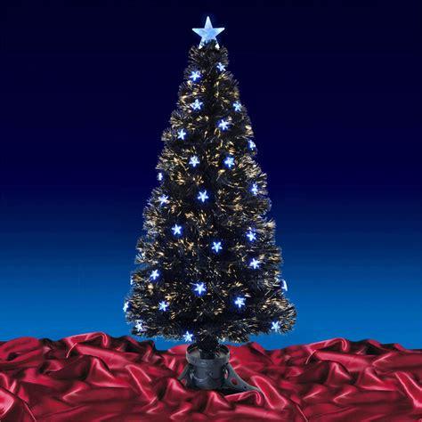 black fiber optic tree 5ft 150cm beautiful black fibre optic tree with