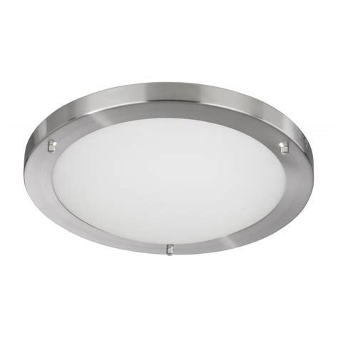 bathroom flush ceiling light searchlight 10632ss bathroom lights 1 light satin silver