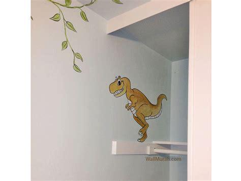 dinosaurs murals walls dinosaur wall mural exles photos and