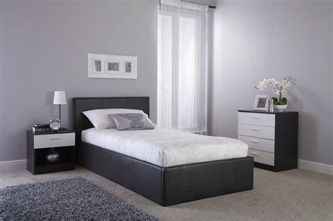 side bed frames side lift ottoman storage black bed frame