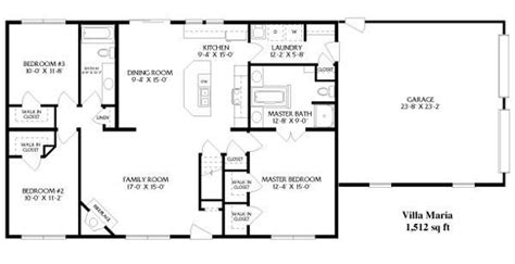 open ranch floor plans best of basic ranch style house plans new home plans design