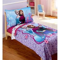 disney bedding set disney frozen elsa 4pc toddler bedding set