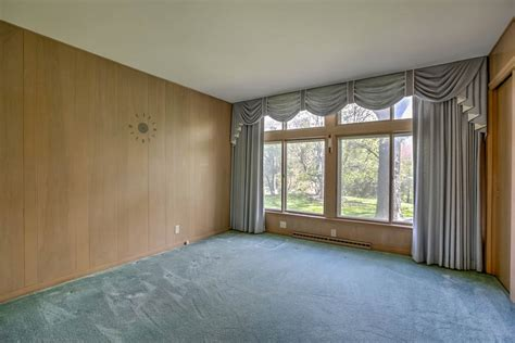 retro wood paneling 1956 time capsule ranch house impeccably decorated in