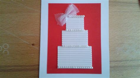 how to make a beautiful greeting card how to make a beautiful wedding greeting card diy crafts