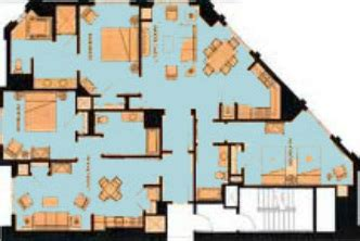 marriott grand chateau 2 bedroom villa floor plan elizahittman marriott grand chateau 3 bedroom villa