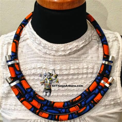how to make ankara jewelry 1000 ideas about necklace on