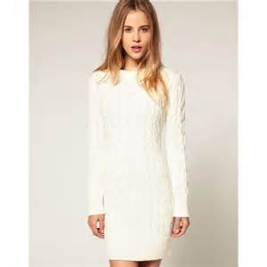 white cable knit sweater dress 50 h m sweaters h m cable knit white sweater dress