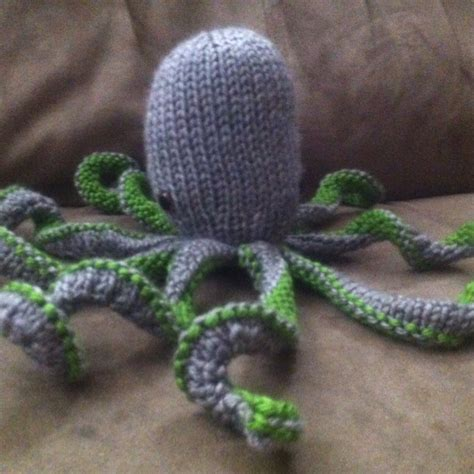 knitted octopus knit octopus boo ya tattoos i want