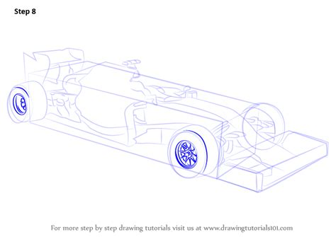 how to draw a car 8 steps with pictures wikihow learn how to draw f1 car sports cars step by step