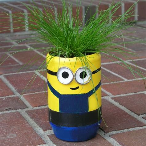 minion crafts for minion planter family crafts