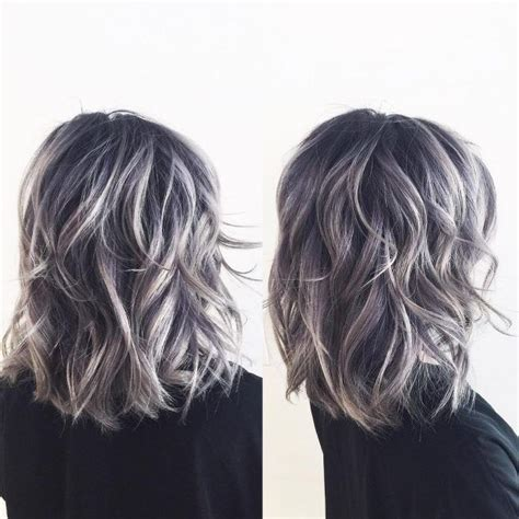 high lighted hair with gray roots 25 best ideas about silver highlights on pinterest gray