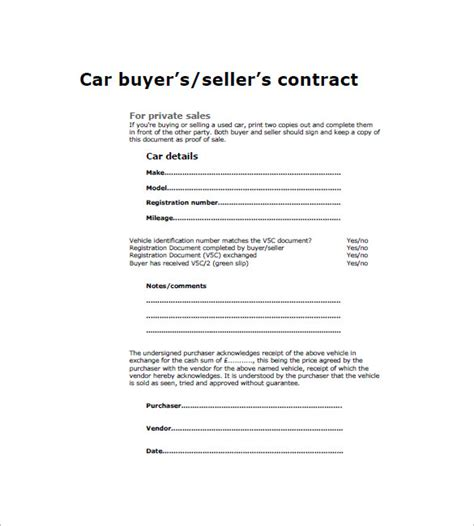 car invoice template 8 free sample example format