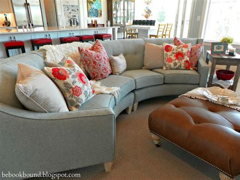 Elegant Livingrooms best 25 curved couch ideas on pinterest table behind