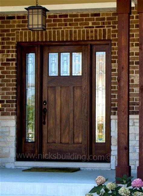front exterior door 25 best ideas about craftsman style front doors on