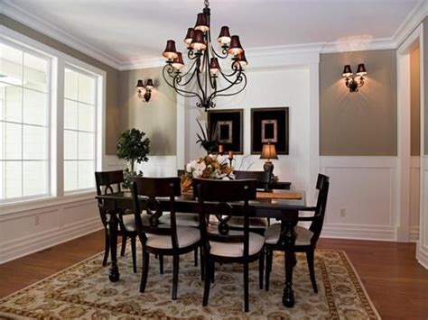 formal dining room decorating ideas barred window molding