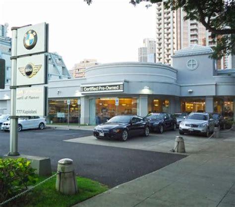 Bmw Of Honolulu by Bmw Of Honolulu Car Dealership In Honolulu Hi 96813