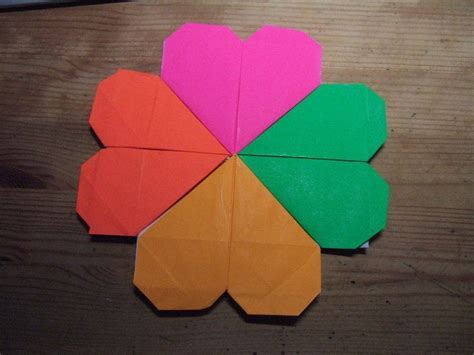 origami four leaf clover origami 4 leaf clover 183 how to fold origami 183 origami on