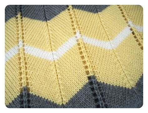 free blanket knitting patterns she is crafting my doom striped chevron baby blanket