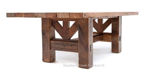timber dining table timber frame dining table salvaged barn wood rustic