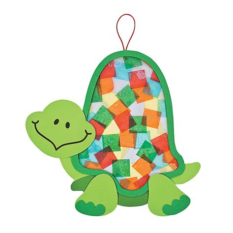 paper turtle craft colorful turtle tissue paper craft kit tissue paper