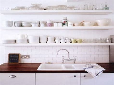 kitchen wall shelves ideas open kitchen wall shelving ideas home interior design