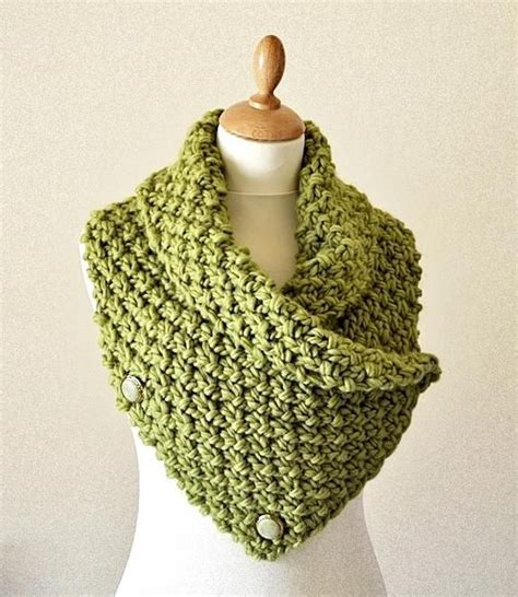 knit warmers easy chunky knit neck warmer cowl pattern on craftsy