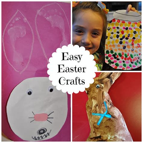 easy easter crafts 3 easy easter crafts for preschoolers