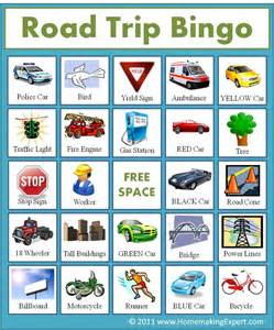 make my trip card best 25 road trip bingo ideas on car