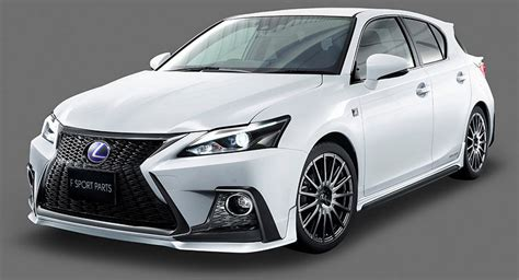 Lexus Ct 200 H by Dub Magazine Trd Gives Lexus Ct 200h A Facelift