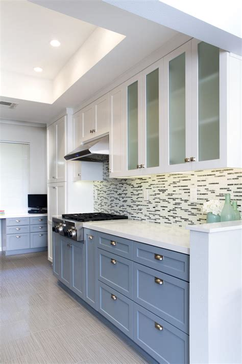 two color kitchen cabinets ideas two toned kitchen cabinets as contemporary inspiration kitchen design amaza design