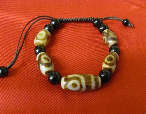 tibetan bead bracelet tibetan dzi bead bracelet moon tibetan gift shop