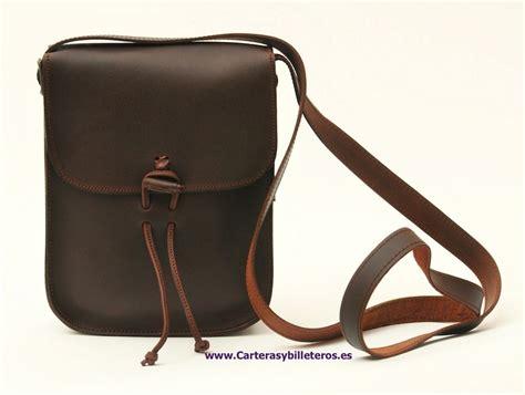 bolsos de cuero artesanales bolso de cuero engrasado unisex peque 209 o artesanal