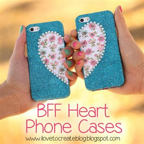 bff crafts for ilovetocreate bff matching phone cases