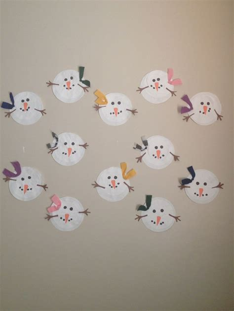 arts and crafts projects for 2 year olds snowman craft did this craft with 2 year olds arts and