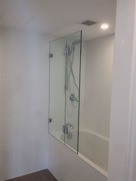 glass shower bath screen frameless shower screens clearview glass