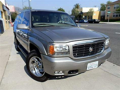 2000 Cadillac Escalade For Sale by Cadillac Escalade 2000 California Mitula Cars