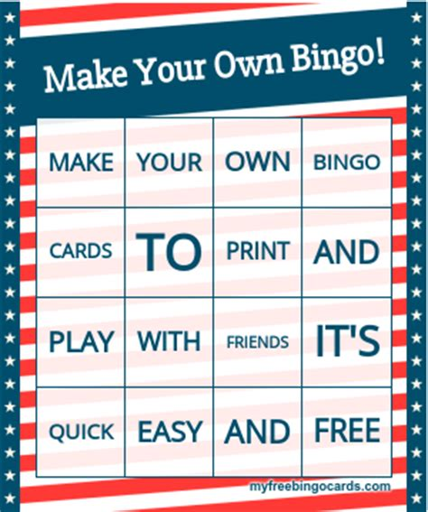 make your own photo cards free bingo cards www pixshark images galleries with a bite
