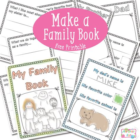 family picture books free family book printables free homeschool deals