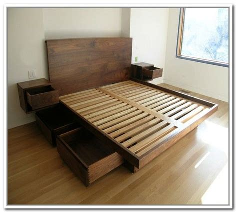 size platform bed frame with drawers best 25 bed frame with drawers ideas on bed