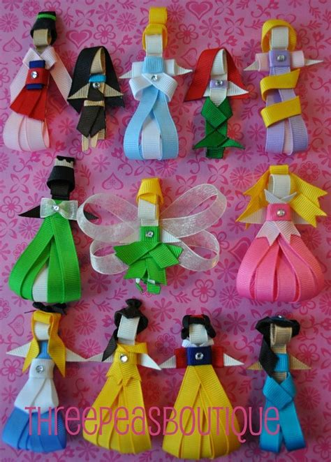 disney crafts princesas en liston manualidades raras
