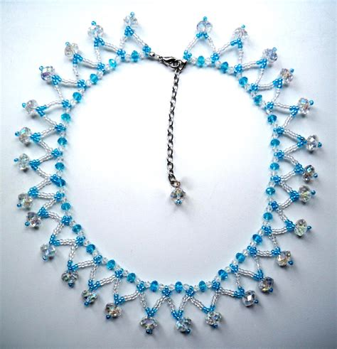 simple beaded necklace designs simple beaded necklace designs www imgkid the