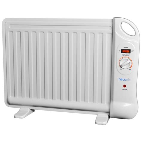desk heater newair 400 watt electric filled desk portable